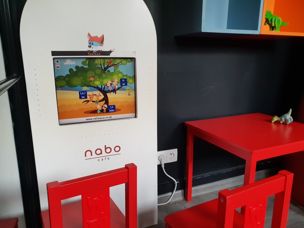 Nabo Cafe - restauracja przyjazna dzieciom Warszawa - Rodzinny Kompas 4