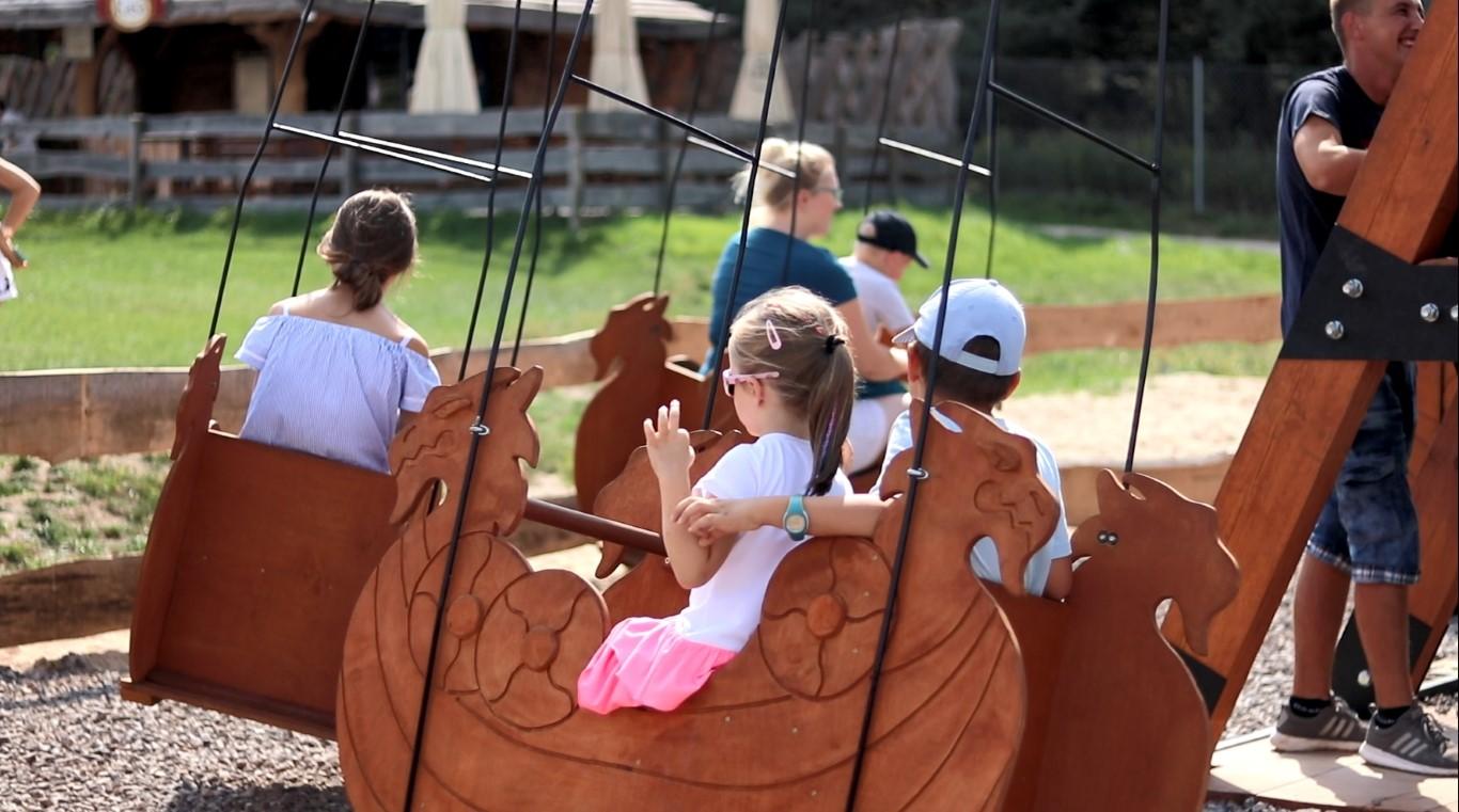 Magiczne Ogrody - atrakcje dla dzieci - park rozrywki - Rodzinny Kompas B
