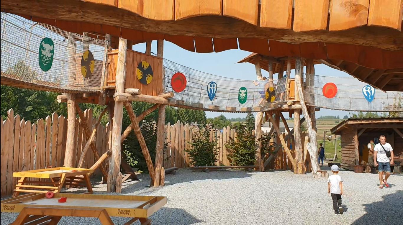 Magiczne Ogrody - atrakcje dla dzieci - park rozrywki - Rodzinny Kompas A