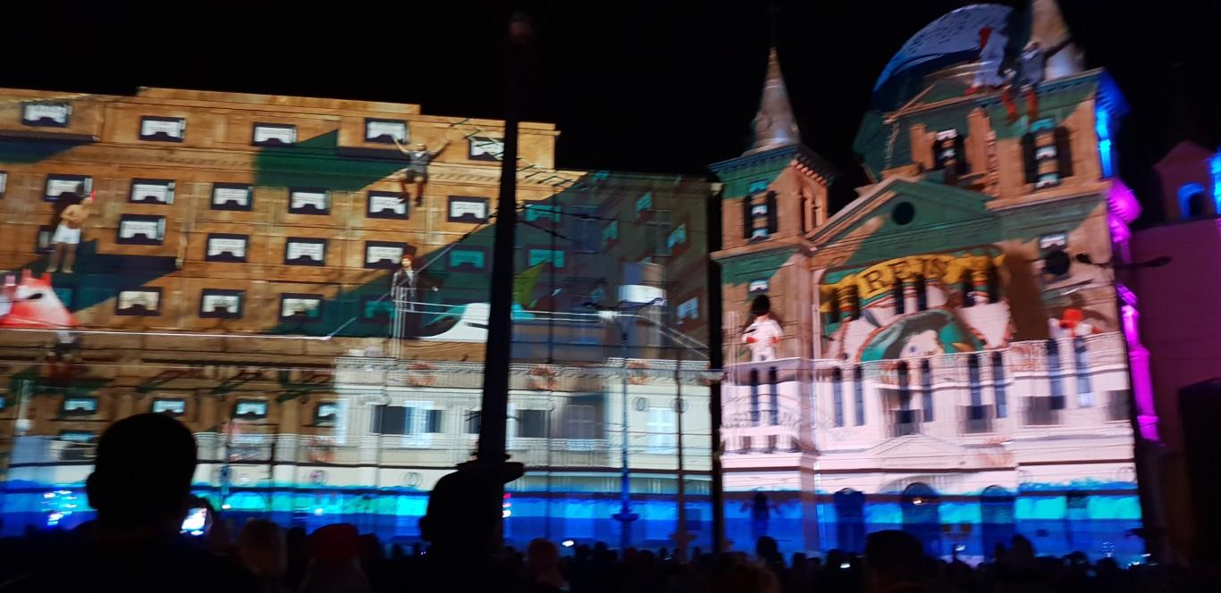 Festiwal Światła Łódź - Light Move Festival - atrakcje dla dzieci Łódź - Rodzinny Kompas 6