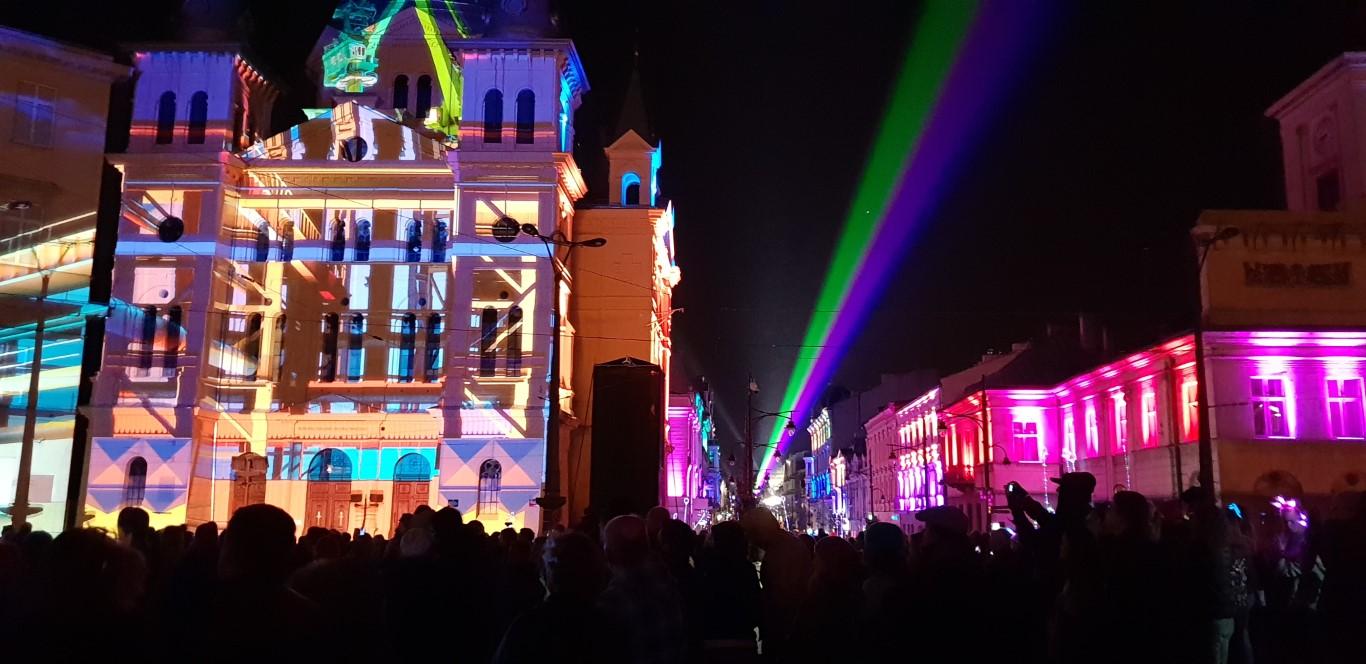 Festiwal Światła Łódź - Light Move Festival - atrakcje dla dzieci Łódź - Rodzinny Kompas 1
