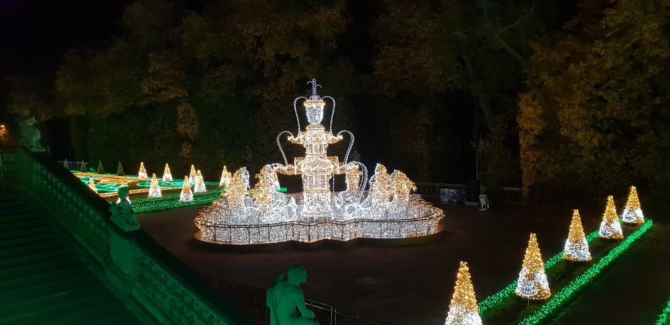 Królewski Ogród Światła - atrakcje dla dzieci Warszawa - Rodzinny Kompas 10