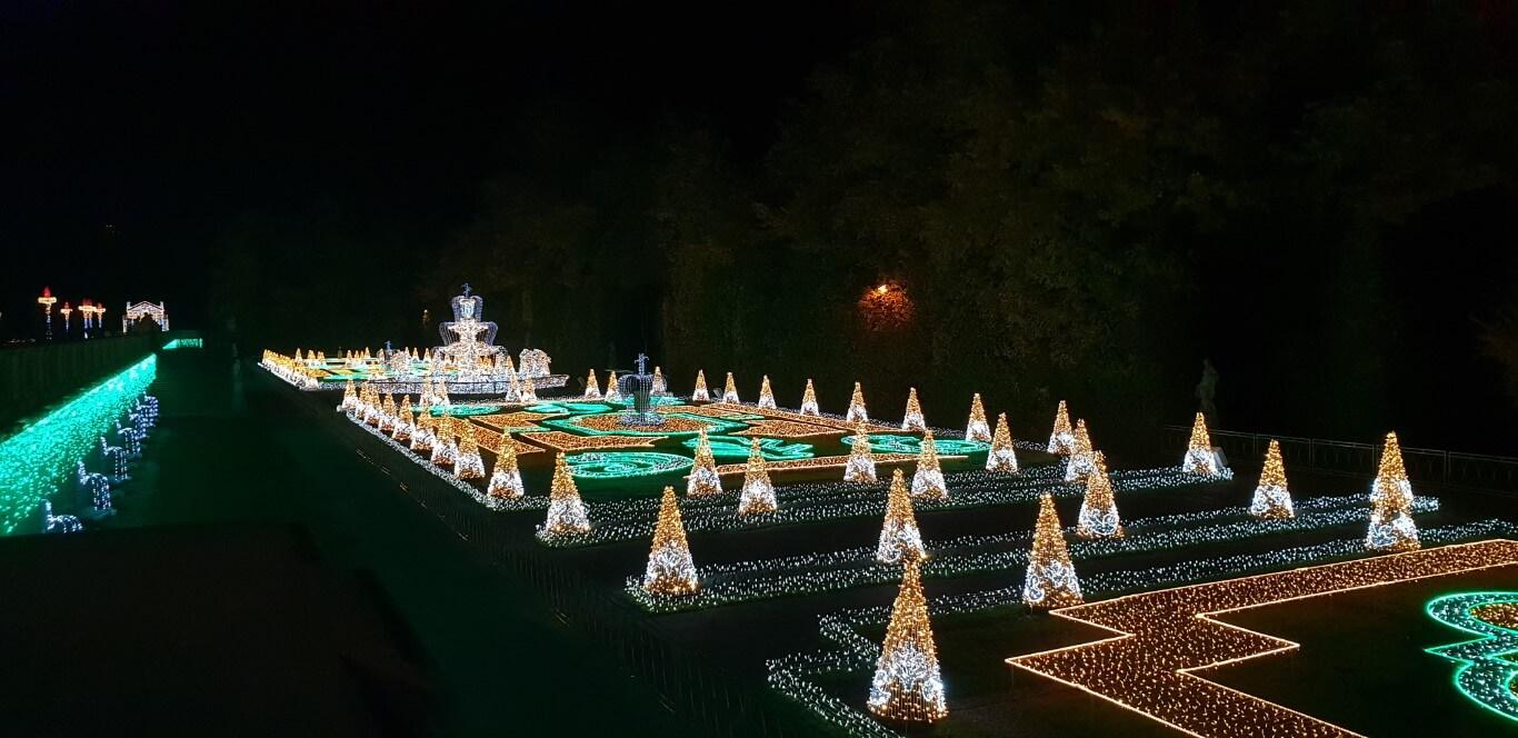 Królewski Ogród Światła - atrakcje dla dzieci Warszawa - Rodzinny Kompas 11