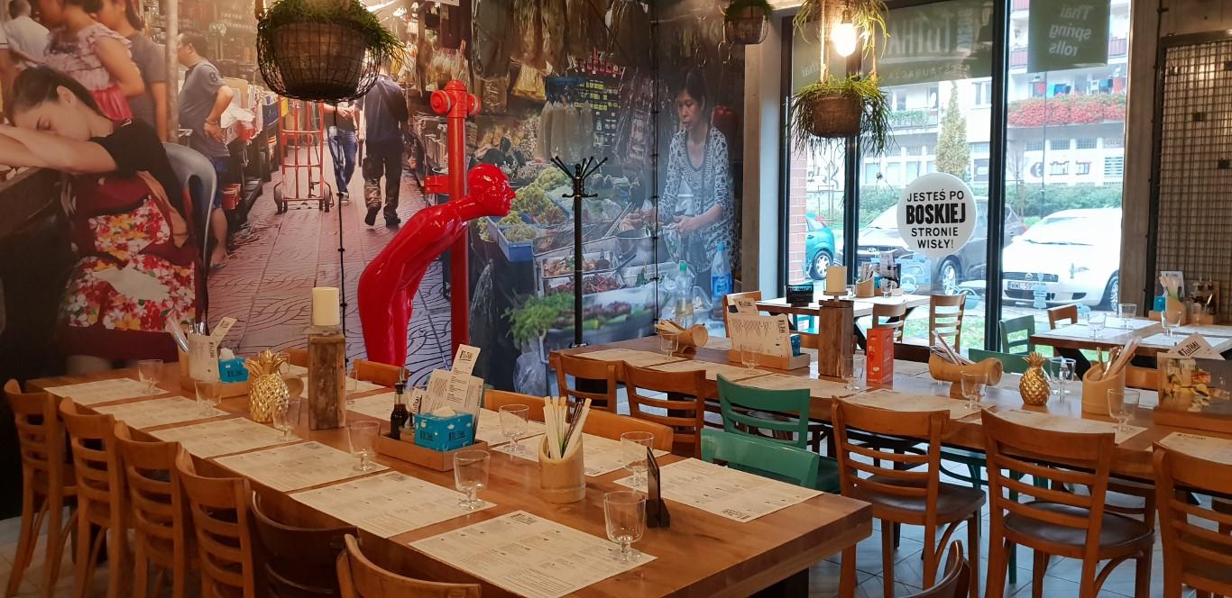 Bosko Tu Thai - restauracja przyjazna dzieciom - restauracja Warszawa - Rodzinny Kompas 2