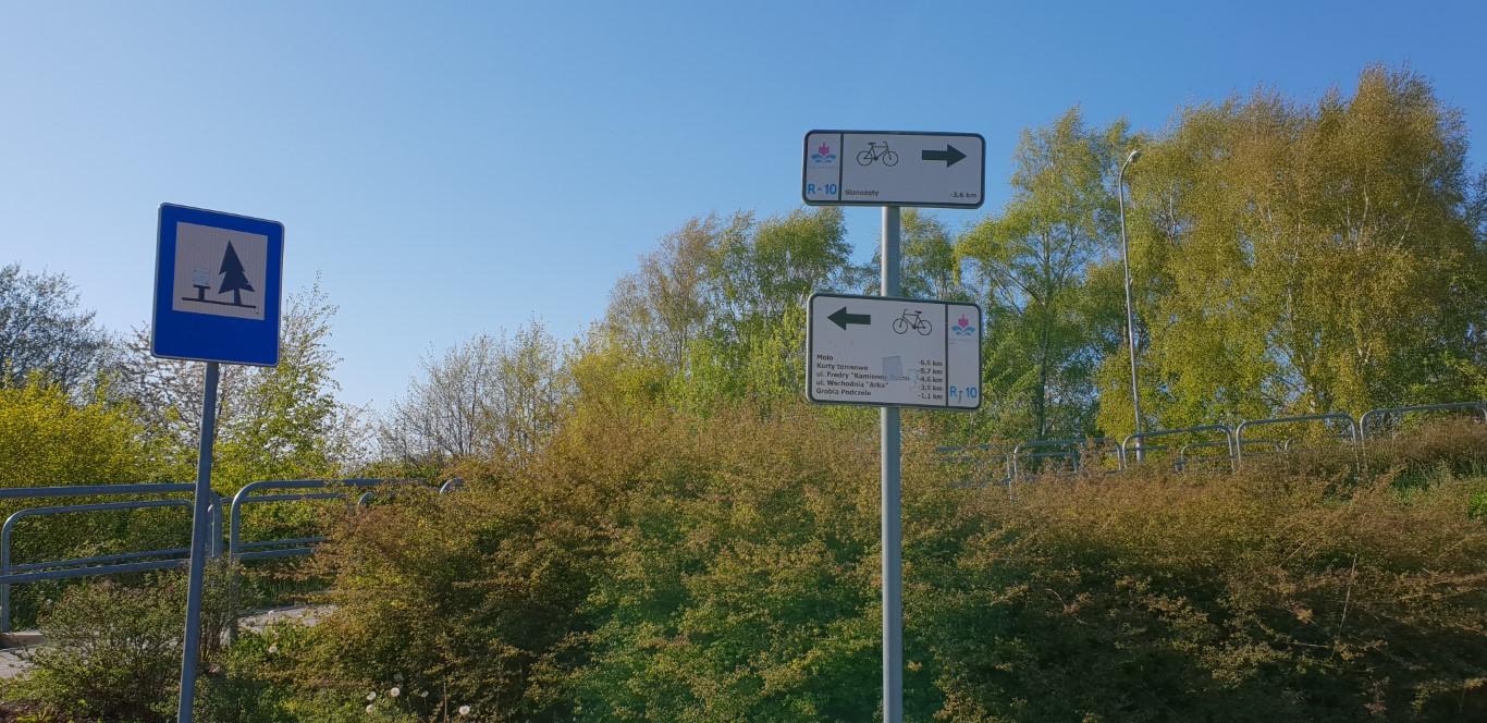 Trasa rowerowa Kołobrzeg - atrakcje dla dzieci Kołobrzeg - Rodzinny Kompas 2