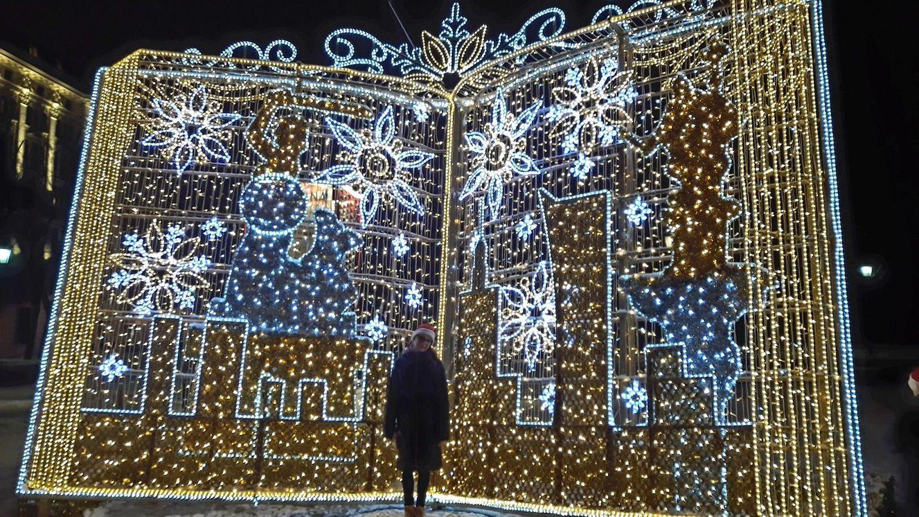 Świąteczna Iluminacja Warszawa 2019 - darmowe atrakcje dla dzieci w Warszawie - Rodzinny Kompas 8
