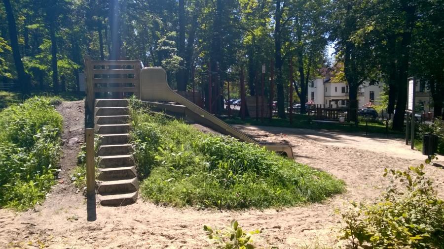 Place zabaw Cieszyn - Rodzinny Kompas