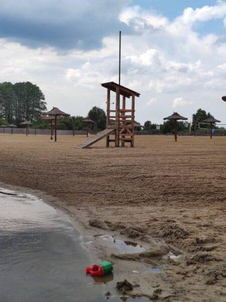 Jezioro Mamut - atrakcje dla dzieci Mazowsze - kąpielisko Mazowsze - Rodzinny Kompas 4