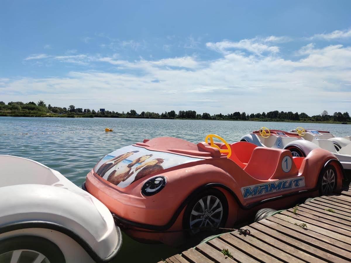 Jezioro Mamut - atrakcje dla dzieci Mazowsze - kąpielisko Mazowsze - Rodzinny Kompas 8