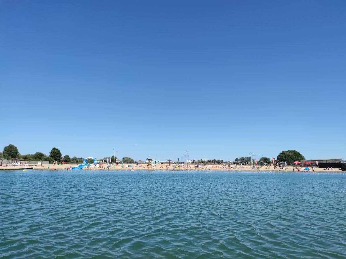 Jezioro Mamut - atrakcje dla dzieci Mazowsze - kąpielisko Mazowsze - Rodzinny Kompas 6