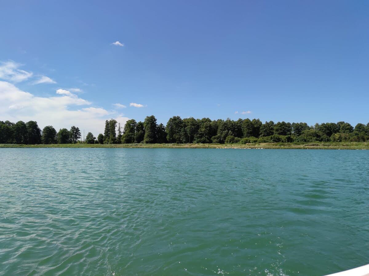 Jezioro Mamut - atrakcje dla dzieci Mazowsze - kąpielisko Mazowsze - Rodzinny Kompas 1